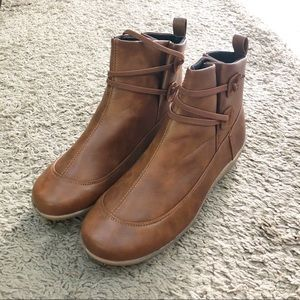 Shoes - Brown ankle boots
